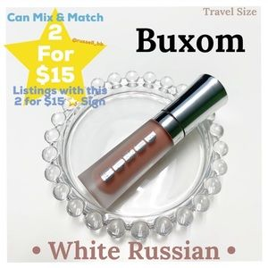 Buxom Plumping Lip Cream • White Russian